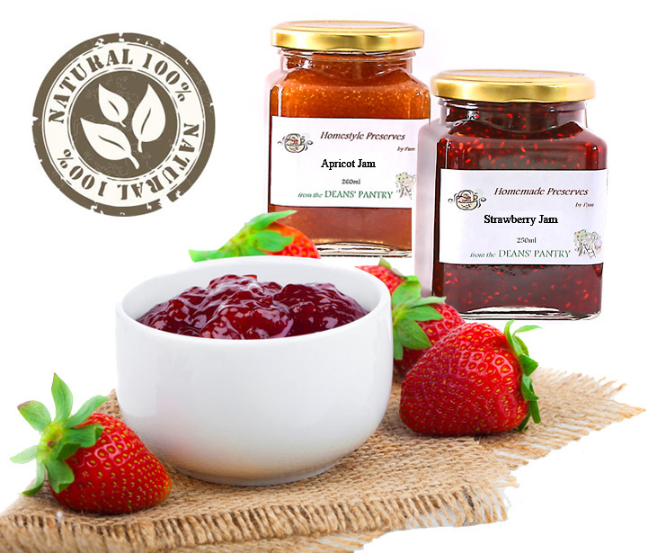 Homestyle Jams and Jellies